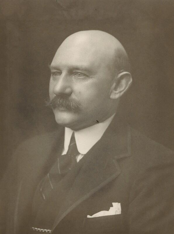 Charles Alfred Worsley Pelham, 4th Earl of Yarborough, by Walter Stoneman, 1917 - NPG x165253 - © National Portrait Gallery, London