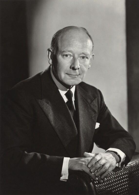 Sir (Frank) Patrick Bishop, by Walter Bird, October 1958 - NPG x165278 - © National Portrait Gallery, London
