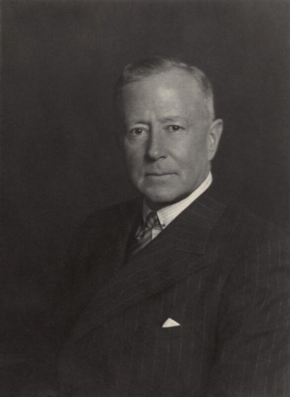 Sir Reginald Arthur Blankenberg, by Walter Stoneman, May 1935 - NPG x165309 - © National Portrait Gallery, London
