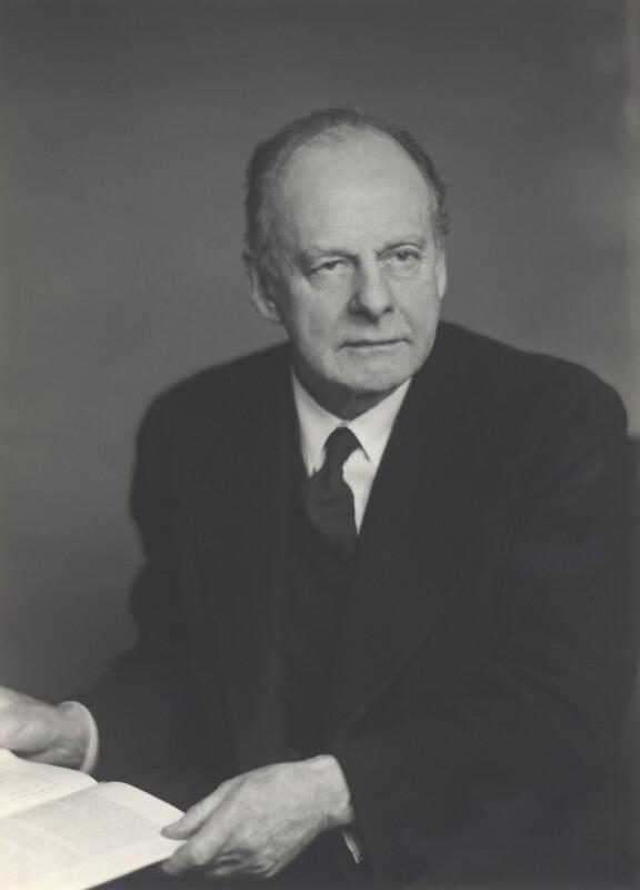 Sir Maurice Bonham-Carter, by Walter Stoneman, March 1948 - NPG x165332 - © National Portrait Gallery, London