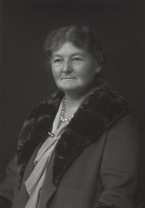 Margaret Grace Bondfield, by Walter Stoneman, 1930 - NPG x165335 - © National Portrait Gallery, London