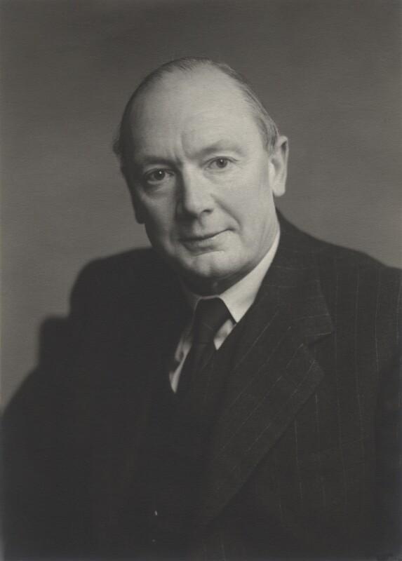 Edmund John Bowen, by Walter Stoneman, 1954 - NPG x165397 - © National Portrait Gallery, London