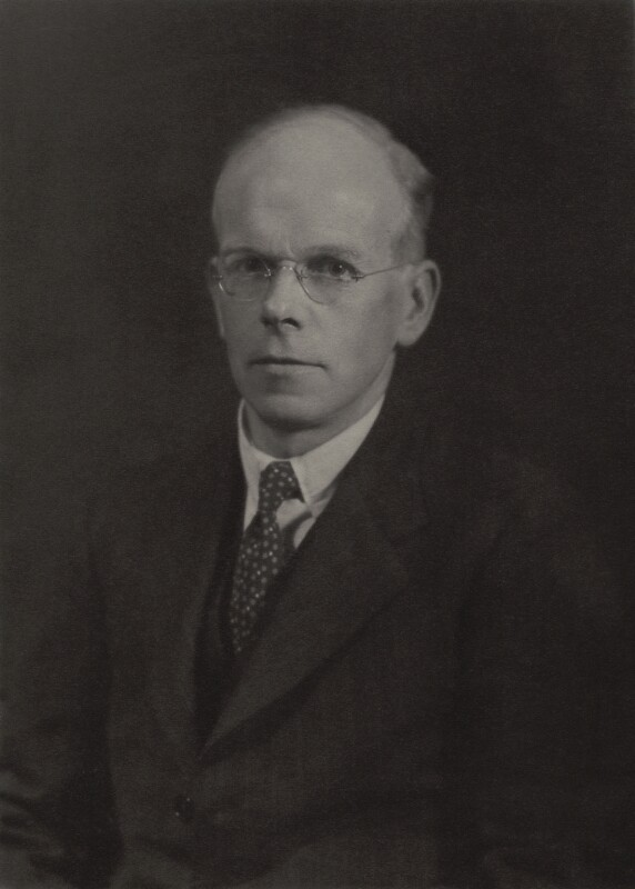 George Edward Briggs, by Walter Stoneman, June 1936 - NPG x165517 - © National Portrait Gallery, London