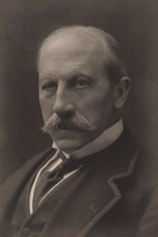Alfred Milner, Viscount Milner, by Walter Stoneman, circa 1916 - NPG x165581 - © National Portrait Gallery, London