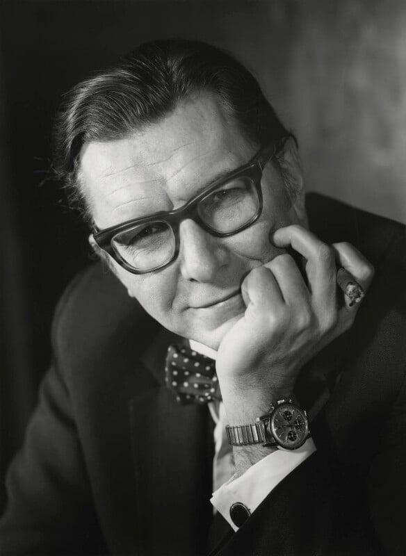 Sir Robin Day, by Godfrey Argent, 21 January 1970 - NPG x165616 - © National Portrait Gallery, London