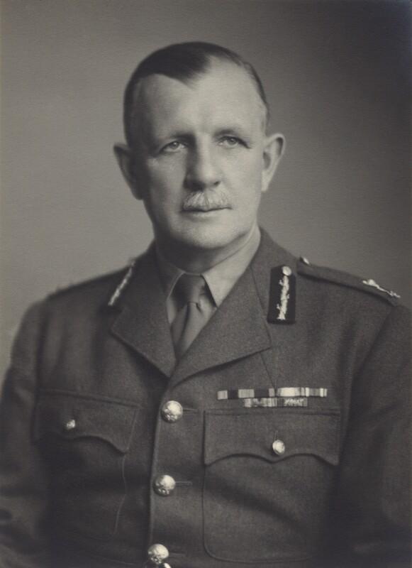Sir (Reginald Alexander) Dallas Brooks, by Walter Stoneman, August 1944 - NPG x165655 - © National Portrait Gallery, London