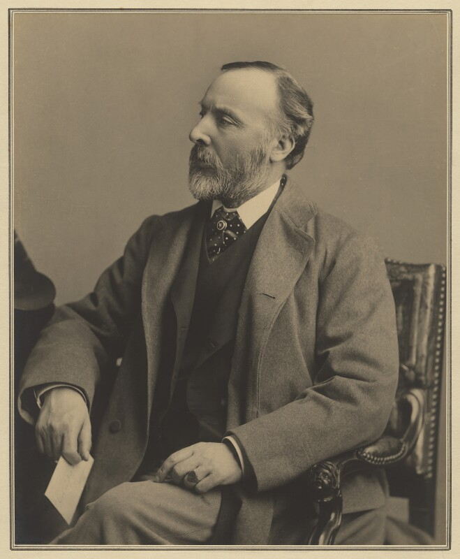 Sir Andrew Clark, 1st Bt, by Elliott & Fry, 1885 - NPG x127421 - © National Portrait Gallery, London