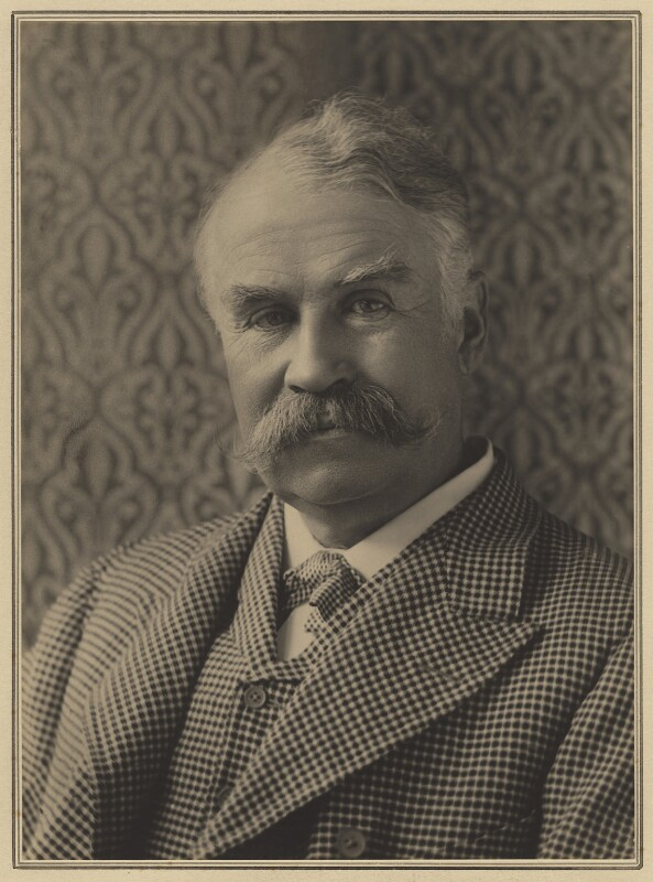 Sir William Schwenck Gilbert, by Elliott & Fry, 1891 - NPG x127431 - © National Portrait Gallery, London
