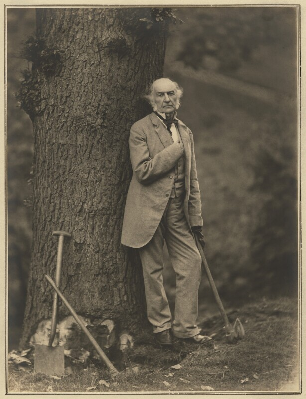 William Ewart Gladstone, by Elliott & Fry, 1887 - NPG x127433 - © National Portrait Gallery, London