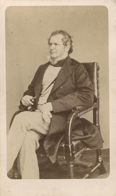 Edward Stanley, 14th Earl of Derby, by W. & D. Downey, 1865 - NPG Ax16243 - © National Portrait Gallery, London