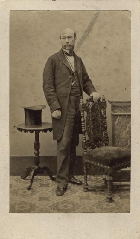 James Fergusson, by McLean, Melhuish, Napper & Co, 1859-1861 - NPG Ax16268 - © National Portrait Gallery, London