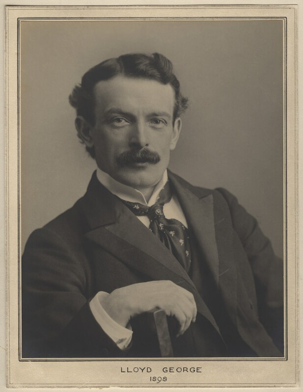 David Lloyd George, by Elliott & Fry, 1898 - NPG x127460 - © National Portrait Gallery, London