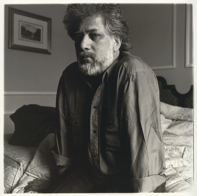 Michael Ondaatje, by Neil Drabble, 1992 - NPG x127396 - © Neil Drabble