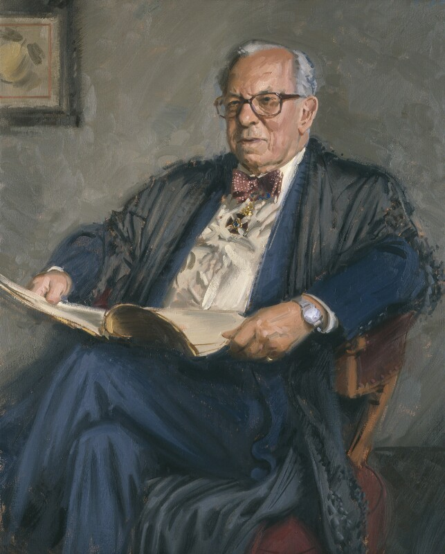 Sir Michael Eliot Howard, by Andrew Festing, 2005 - NPG 6744 - © National Portrait Gallery, London