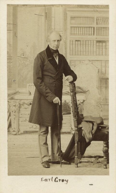 Henry George Grey, 3rd Earl Grey, by Caldesi, Blanford & Co, early 1860s - NPG Ax16398 - © National Portrait Gallery, London