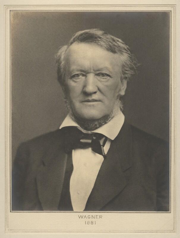 Richard Wagner, by Chevalier Luigi Bernieri, for  Elliott & Fry, 1881 - NPG x127492 - © National Portrait Gallery, London