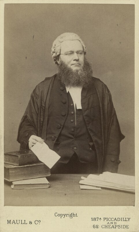 Edward Vaughan Hyde Kenealy, by Maull & Co, mid 1870s - NPG Ax16418 - © National Portrait Gallery, London