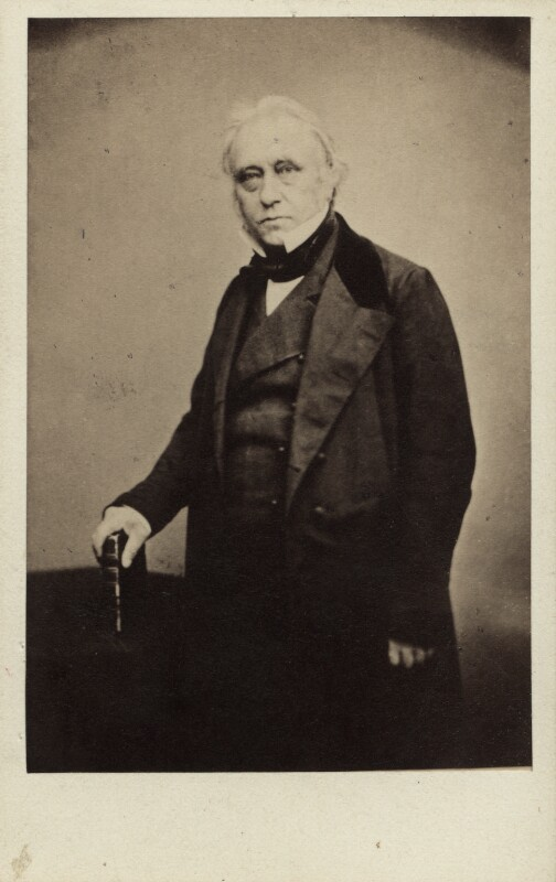 Thomas Babington Macaulay, Baron Macaulay, by Maull & Polyblank, April 1856 - NPG Ax29649 - © National Portrait Gallery, London