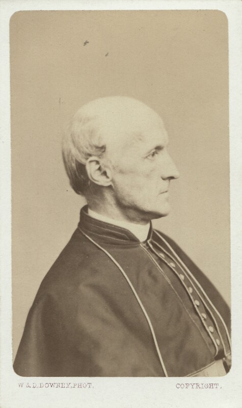 Henry Edward Manning, by W. & D. Downey, mid 1860s - NPG Ax29654 - © National Portrait Gallery, London