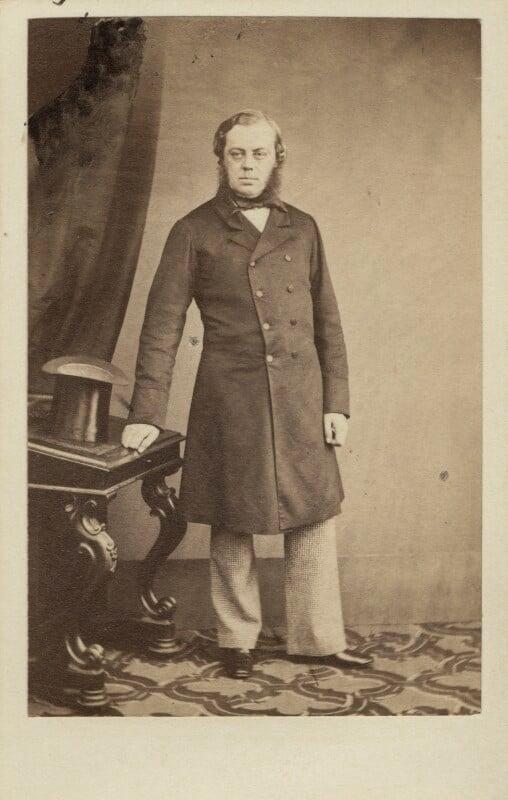 John Winston Spencer Churchill, 7th Duke of Marlborough, by Maull & Polyblank, circa 1862 - NPG Ax29658 - © National Portrait Gallery, London