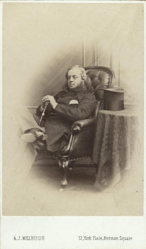 John Winston Spencer Churchill, 7th Duke of Marlborough, by A.J. (Arthur James) Melhuish, 1865 or before - NPG Ax29660 - © National Portrait Gallery, London