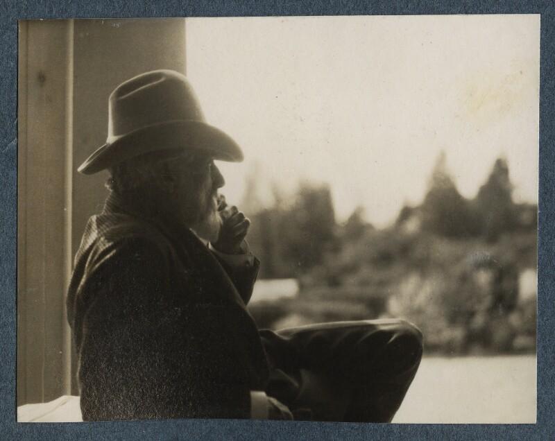 Robert Bridges, by Lady Ottoline Morrell, 26 June 1926 - NPG Ax142576 - © National Portrait Gallery, London