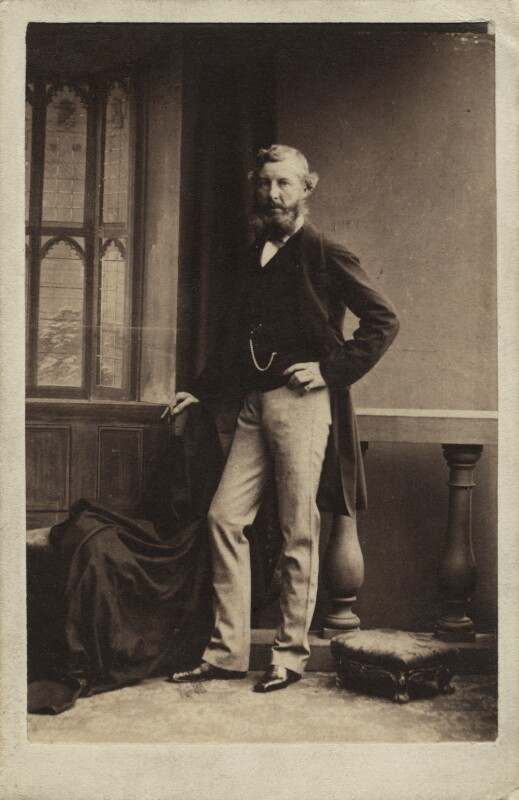 William Drogo Montagu, 7th Duke of Manchester, by Camille Silvy, 1860 - NPG Ax29653 - © National Portrait Gallery, London