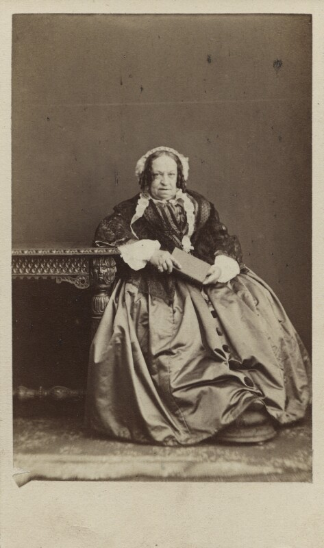 Susan North, Baroness North, by Herbert Watkins, 1860s - NPG Ax29673 - © National Portrait Gallery, London