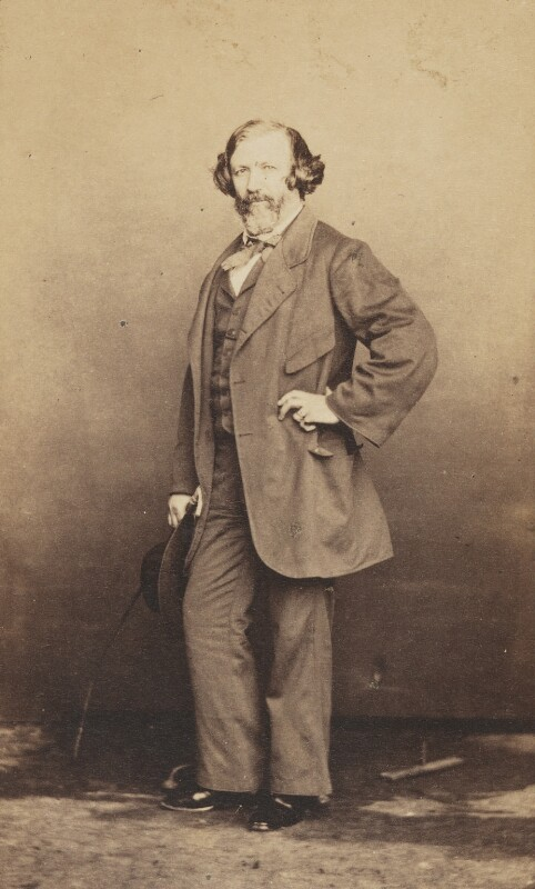 Robert Browning, by Fratelli D'Alessandri, March 1860 - NPG P1093 - © National Portrait Gallery, London