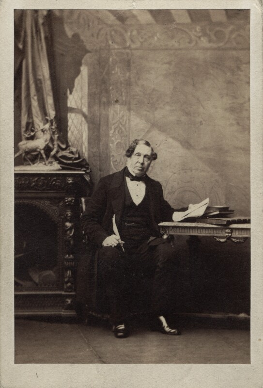 Sir Charles Beaumont Phipps, by Camille Silvy, 21 November 1861 - NPG Ax29953 - © National Portrait Gallery, London