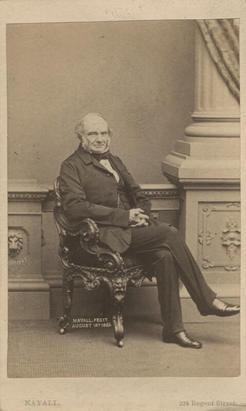 John Russell, 1st Earl Russell, by John Jabez Edwin Mayall, 1861 - NPG Ax29965 - © National Portrait Gallery, London