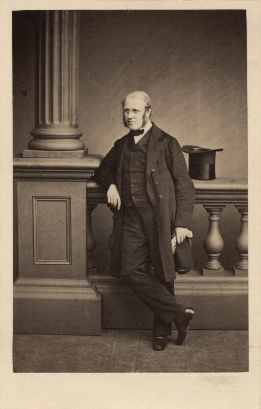 Sir George Scharf, by Maull & Polyblank, 31 August 1861 - NPG Ax29971 - © National Portrait Gallery, London