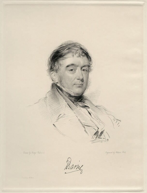 Francis Thornhill Baring, 1st Baron Northbrook, by William Holl Jr, after  George Richmond, 1848 or after - NPG D20692 - © National Portrait Gallery, London