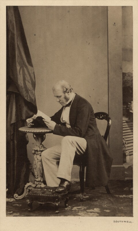 Sir George Scharf, by William Henry Southwell, September 1860 - NPG Ax29972 - © National Portrait Gallery, London