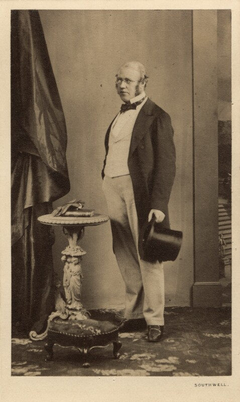 Sir George Scharf, by William Henry Southwell, September 1860 - NPG Ax29975 - © National Portrait Gallery, London