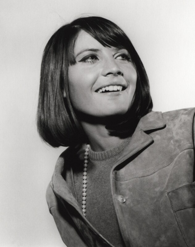 Sandie Shaw, by Harry Goodwin, 1964 - NPG x87860 - © British Broadcasting Corporation