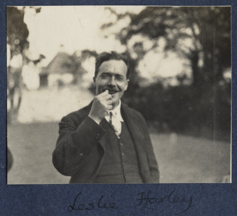L.P. Hartley, by Lady Ottoline Morrell, 1924 - NPG Ax141561 - © National Portrait Gallery, London