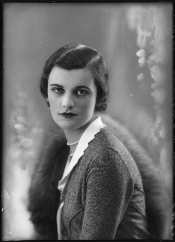 (Ethel) Margaret Campbell (née Whigham), Duchess of Argyll, by Bassano Ltd, 23 October 1930 - NPG x127532 - © National Portrait Gallery, London