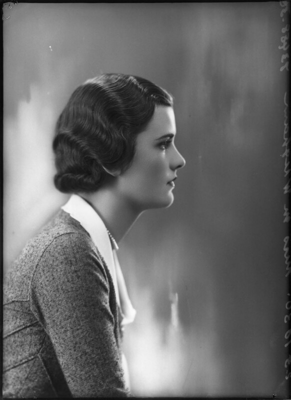(Ethel) Margaret Campbell (née Whigham), Duchess of Argyll, by Bassano Ltd, 23 October 1930 - NPG x127533 - © National Portrait Gallery, London
