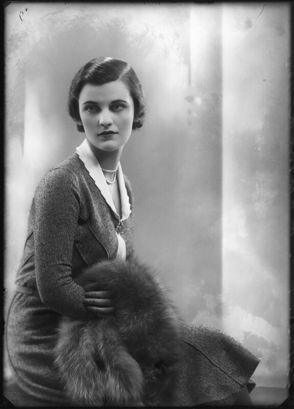 (Ethel) Margaret Campbell (née Whigham), Duchess of Argyll, by Bassano Ltd, 23 October 1930 - NPG x127534 - © National Portrait Gallery, London