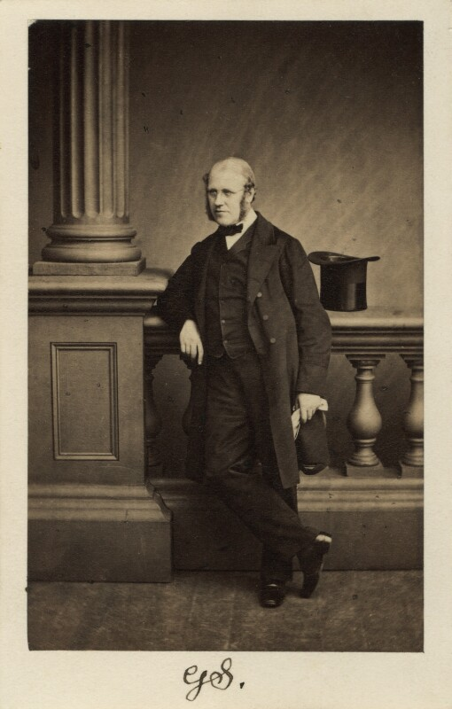 Sir George Scharf, by Maull & Polyblank, 31 August 1861 - NPG Ax30346 - © National Portrait Gallery, London