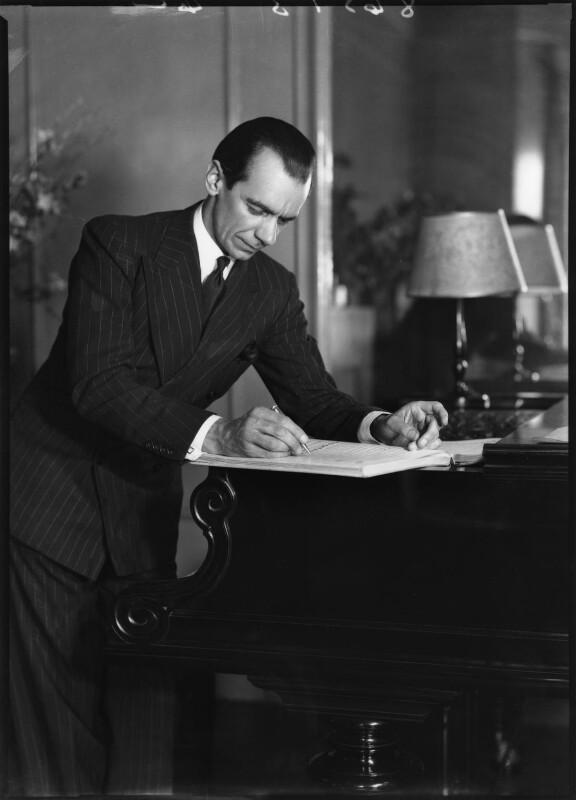 Malcolm Sargent, by Bassano Ltd, 22 June 1938 - NPG x127581 - © National Portrait Gallery, London