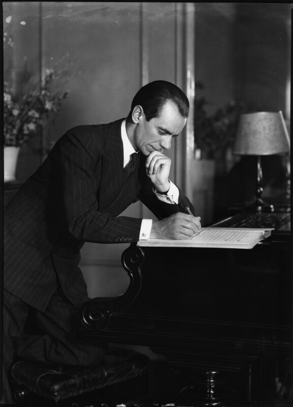 Malcolm Sargent, by Bassano Ltd, 22 June 1938 - NPG x127582 - © National Portrait Gallery, London