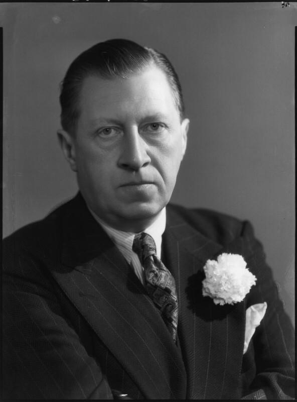 Sir Osbert Sitwell, by Bassano Ltd, 21 June 1939 - NPG x127599 - © National Portrait Gallery, London