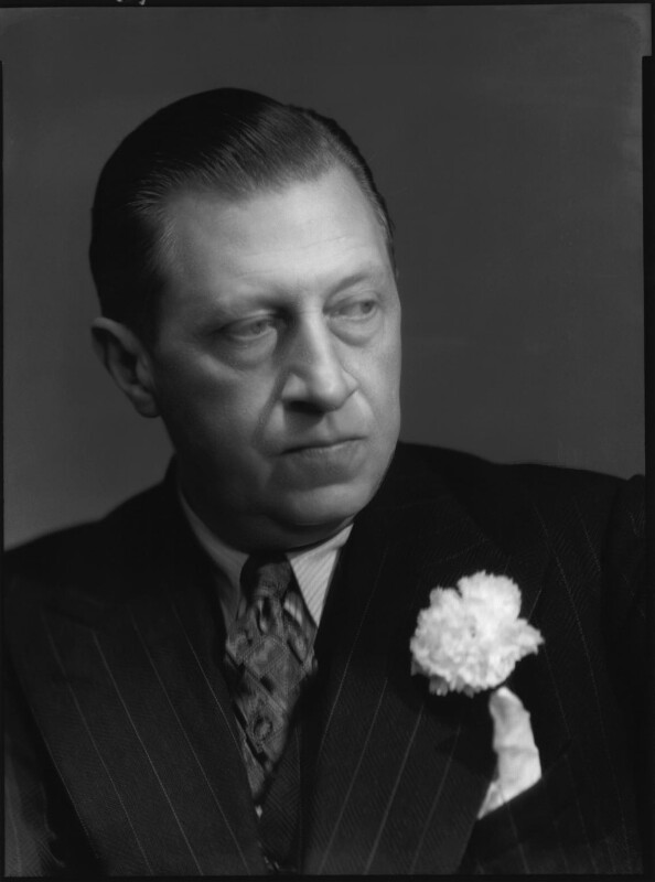 Sir Osbert Sitwell, by Bassano Ltd, 21 June 1939 - NPG x127600 - © National Portrait Gallery, London