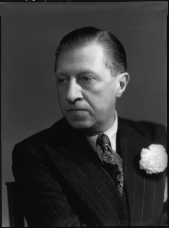 Sir Osbert Sitwell, by Bassano Ltd, 21 June 1939 - NPG x127601 - © National Portrait Gallery, London