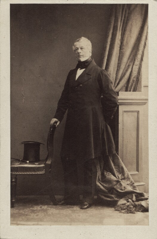 Edward Granville Eliot, 3rd Earl of St Germans, by Camille Silvy, 1860 - NPG Ax30371 - © National Portrait Gallery, London