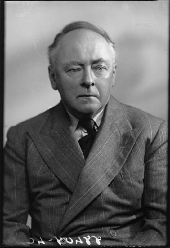 Sir Arnold Bax, by Bassano Ltd, 25 February 1942 - NPG x127611 - © National Portrait Gallery, London