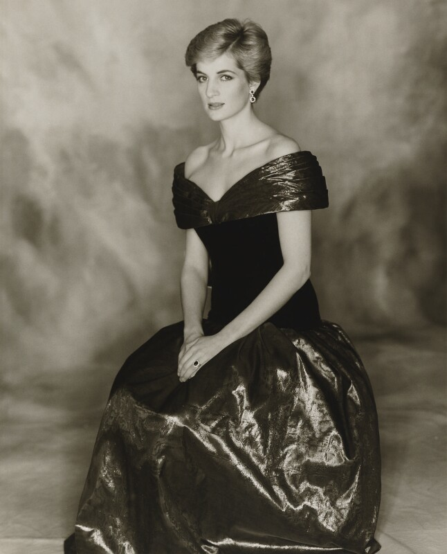 Diana, Princess of Wales, by Terence Daniel Donovan, 1986 - NPG P716(6) - Photo Terence Donovan, © The Terence Donovan Archive