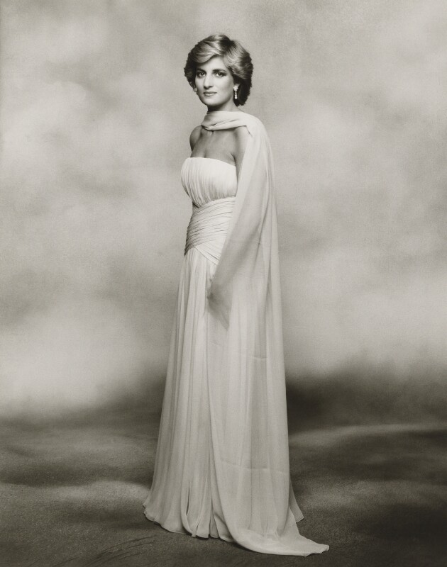 Diana, Princess of Wales, by Terence Daniel Donovan, 1987 - NPG P716(8) - Photo Terence Donovan, © The Terence Donovan Archive